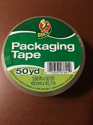 6 Rolls Clear Duck Packaging Packing Carton Shipping Tape 1.88 X 50 Yards