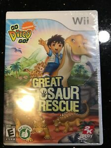Wii great dinosaur rescue game