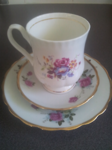 Fine Bone China Mug, China plate and saucer. Old Reynella Morphett Vale Area Preview