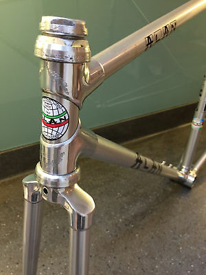 ALAN COMPETIZIONE FRAME 1970's CAMPAGNOLO ALLOY HEADSET ---  VINTAGE ROAD RACING