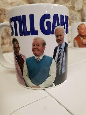 Still Game TV series advertising Cup / Mug Isa Jack Victor and logo