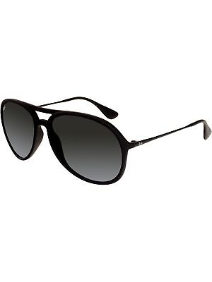 Ray-Ban Men's Gradient Alex RB4201-622/8G-59 Black Aviator Sunglasses