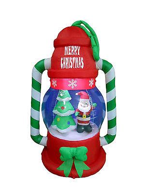 USED Christmas Inflatable Lantern Lamp Santa Tree LED Lights Outdoor Decoration](Inflatable Decoration)