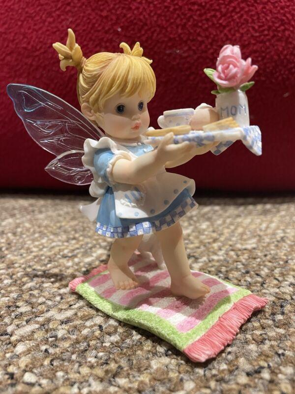 My Little Kitchen Fairies Breakfast In Bed mom Fairy Sample RARE