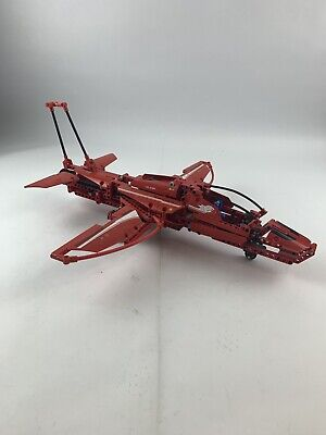 Lego Technic Red Jet Plane Airplane 9394 - 100% Complete