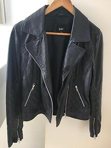 100% Leather Jacket in navy Kirribilli North Sydney Area Preview