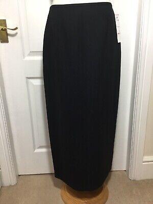 Kasper Ladies Maxi Pencil Skirt Size 14, BNWT, Back Vent, Work Office, Business.