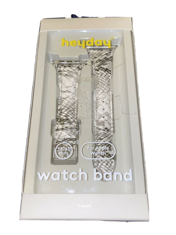 heyday Apple Watch Woven Band Snake Skin 38-40mm