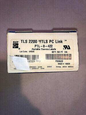 Brady 50 Ft. Label Tape Cartridge Ptl-8-422