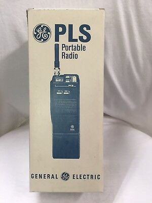 Ge Walkie-talkie Handheld Portable Two-way Radio Plsh05 Ericsson Vhf Brand New