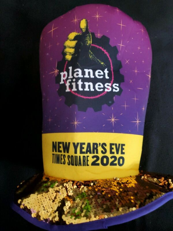 Limited Ediion Hat From TIMES SQUARE NEW YORK 2020 New Years - planet fitness