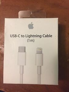 New Apple USB-C to Lightning Cable