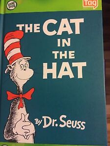 The cat in the hat Tag reading book