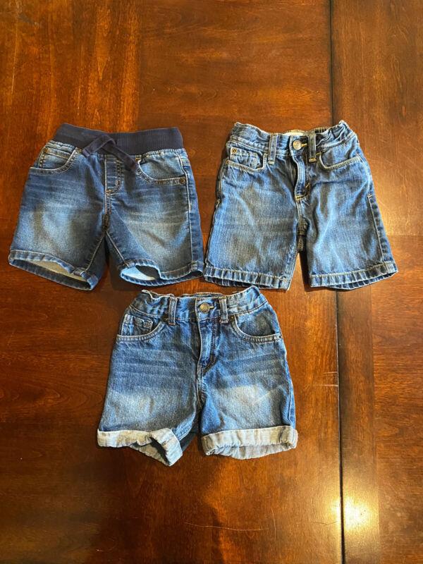 Toddler Old Navy, Gymboree, & Cherokee Denim Jean Shorts, Size 2T Lot of 3