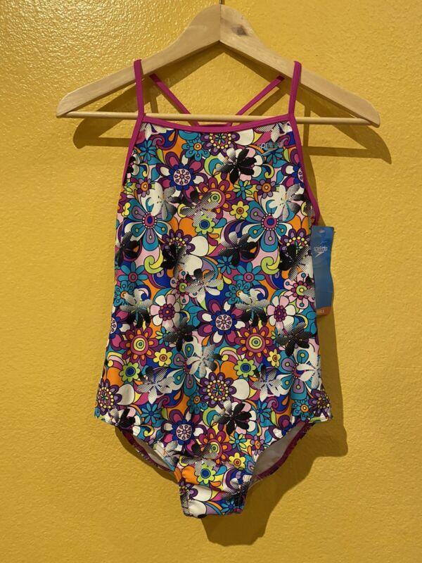 Speedo Multicolor Floral Girl
