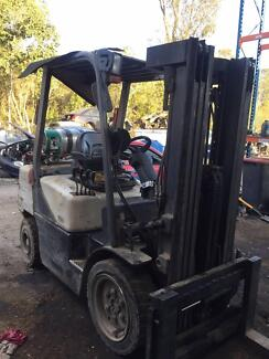 SELLING CROWN CG33P-3 FORKLIFT 3.3T  7343.3 HOURS