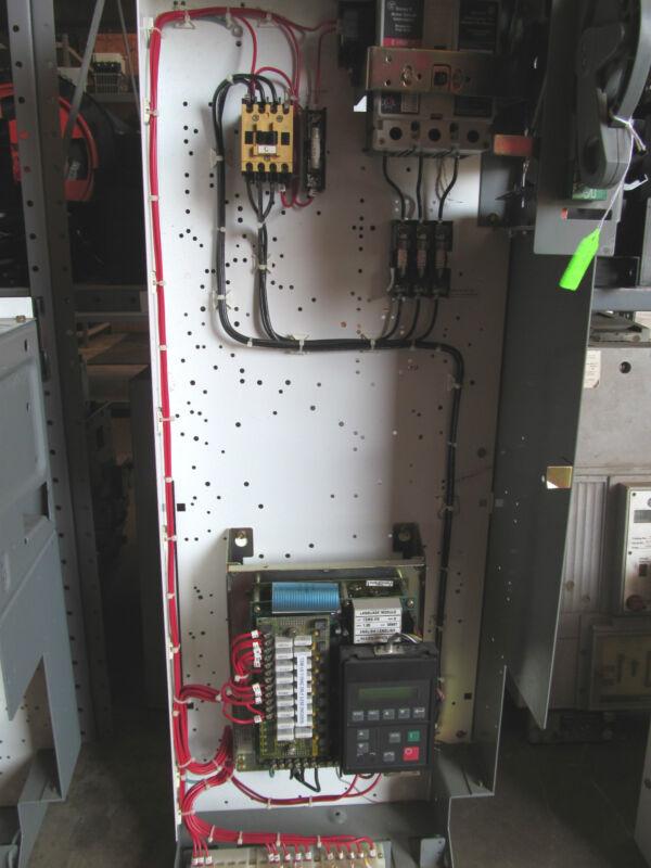 """Allen Bradley 2100 Series 38"""" Drive 1336S Motor Control With HMCP015EOC Breaker"""