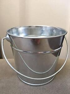40 x tin buckets pails vases pot plants Redfern Inner Sydney Preview