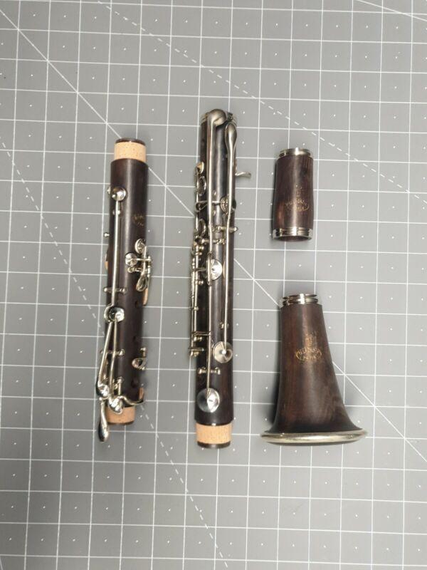 LP M.LACROIX Paris wooden Clarinet  ALBERT SYSTEM  Completely Refurbished