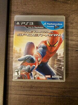 The Amazing Spider-Man For Sony PlayStation 3 PS3! Complete! Free Shipping!
