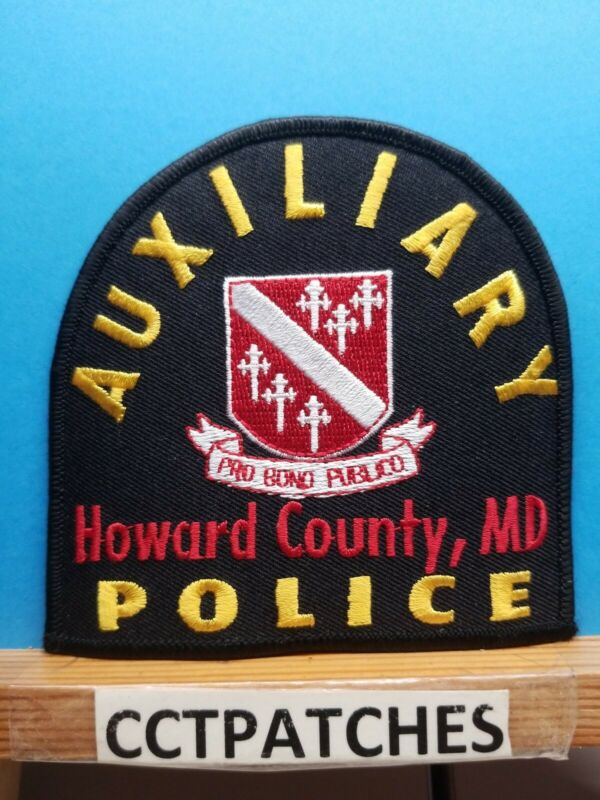 HOWARD COUNTY, MARYLAND AUXILIARY POLICE SHOULDER PATCH MD