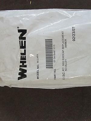 Whelen 01-0416497-010 Model 9ecapa 9000 Endcap With Gasket