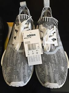 Adidas NMD R1 PK White/Black Glitch Camo US9.5 Fulham Gardens Charles Sturt Area Preview