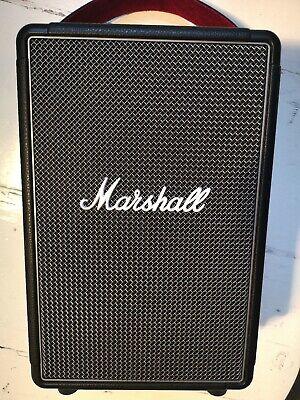 Marshall Tufton Bluetooth Lautsprecher Tragbar Akku - Schwarz High End