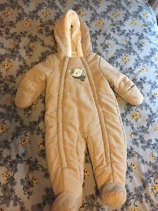 Infant snowsuit 6-12 months