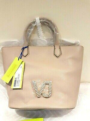 Versace Jeans Womens Large Dusky Pink Handbag BNWT