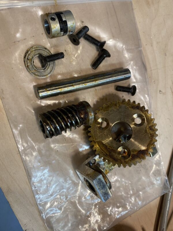 Helical Gearset And Support Bracket