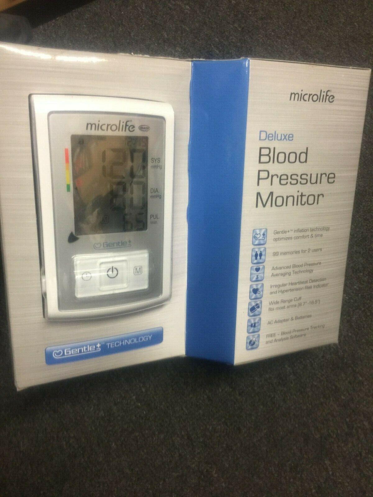 deluxe arm blood pressure monitor model bp3gx1