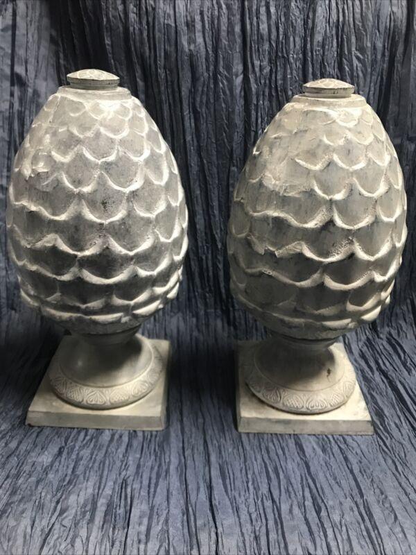 Restoration Hardware Set Of Brass Garden Pom De Pin Decorations