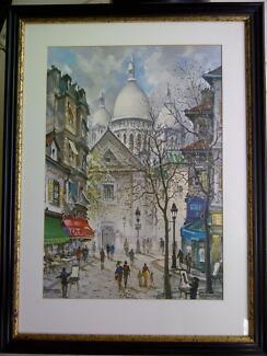PARIS MONTMARTRE Sacre Coeur - Print of J.CHARDON Belrose Warringah Area Preview