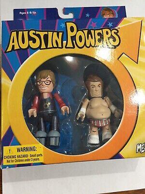 AUSTIN POWERS & FAT BASTARD MEZCO MEZ ITZ MIMB MOC Great Collectible Gift! MINT (Austin Powers Fat Bastard)