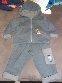 track suit setwith embriodery tiger and piglet age 12mths plus Bayview Pittwater Area Preview