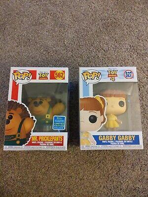 Toy Story Mr Pricklepants & Gabby Gabby Funko Pop