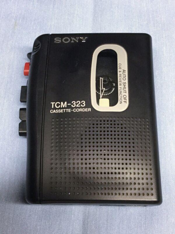 Sony TCM-323 Cassette-Corder