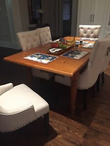 Hand crafted Pine Dining table