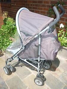 Easy Fold Childcare Pulsa Retro Sport Stroller with a Rain Cover. Prospect Launceston Area Preview