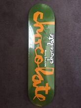 Brand New Chocolate MARK JOHNSON 7.875 inch Skateboard Deck Carlton Melbourne City Preview