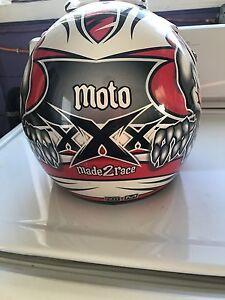 Moto m2r atv helmet