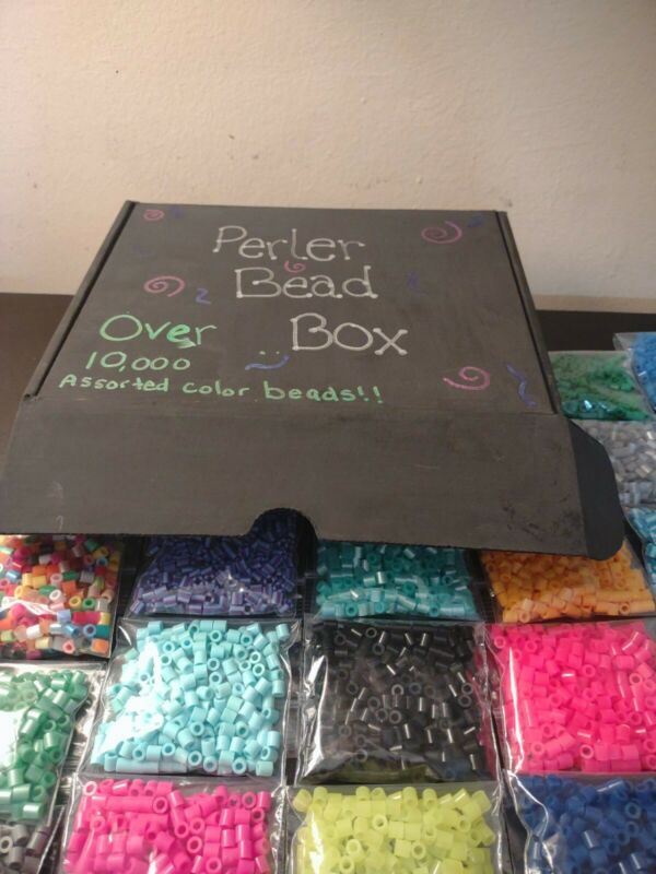 Perler Beads, Many Colors; 10,000+
