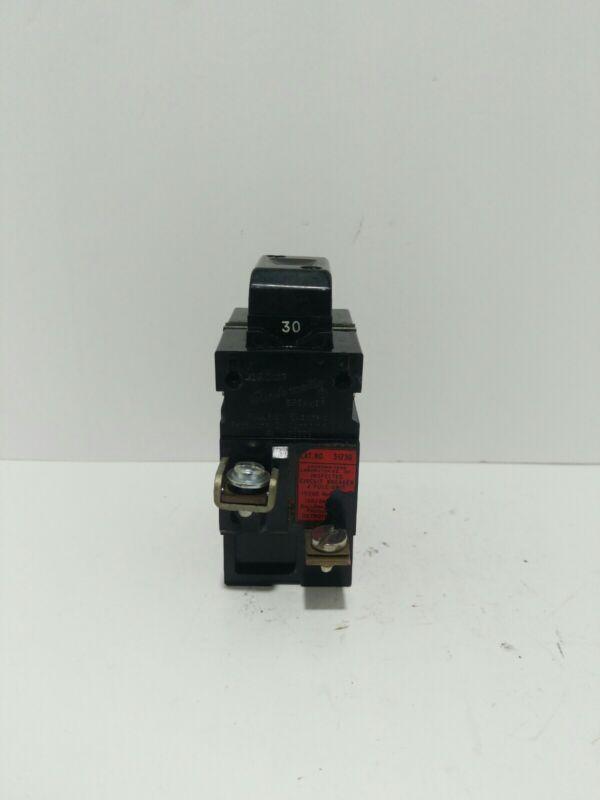 Pushmatic 30 Amp 2 Pole Circuit Breaker ITE P230 Bulldog