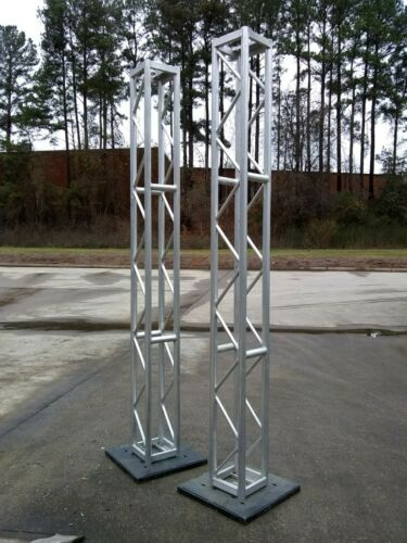 Truss- 10 ft tall with bases- Set of 2