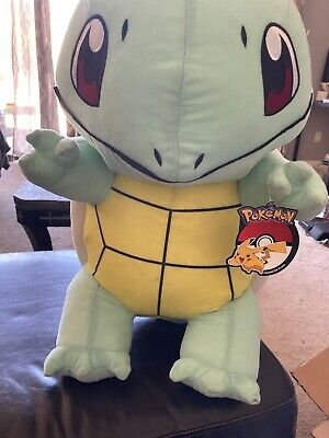 "Giant Pokemon Plush Squirtle Jumbo 21""Stuffed Toy."