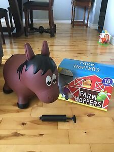 Farm Hoppers bouncy horse $15