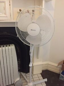 White Pedestal Fan Mosman Mosman Area Preview