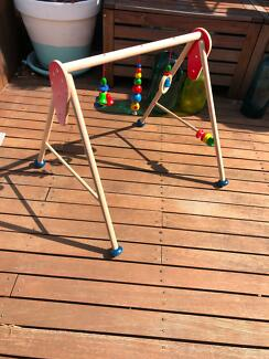 Baby Play Gym - Timber