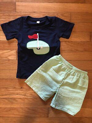 Boys Golf Short Set (Boys Golf Short Set )